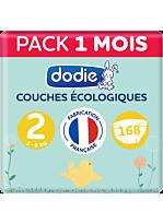 Couches écologiques 3x56 - Taille 2