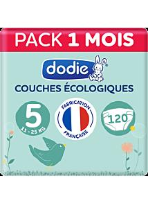 Couches écologiques 3x40 - Taille 5