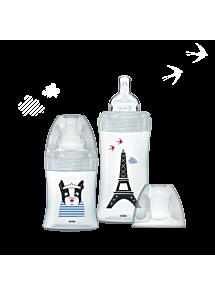 Coffret biberons verre – Escapade parisienne